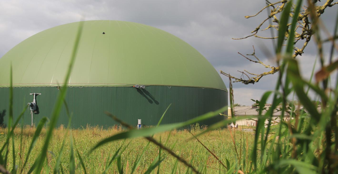 Wasseraufbereitungen für Biogasanlagen